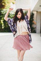 Urban Outfitters skirt - Insight top - Lovers  Friends top