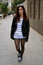Calzedonia stockings - H&M jumper