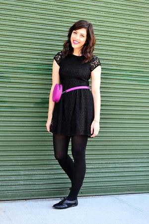 magenta Molly Shaheen bag - black CityClassified shoes - black H&M dress