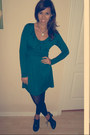 Black-black-oxfords-mossino-target-shoes-teal-green-forever21-dress
