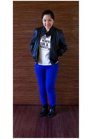 American Eagle pants - Zara boots - Zara shirt