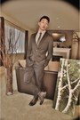 Dark-brown-bed-stu-boots-dark-gray-slim-2-button-h-m-blazer