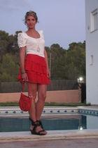Autre ton skirt - Zara shirt