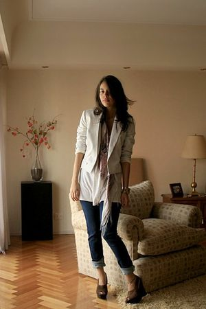 mirrordash jacket - BDG jeans - Steve Madden shoes
