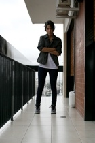 rapsodia jacket - Gap t-shirt - BDG jeans - nike shoes