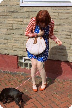 pepa loves dress - Mink Pink cardigan - Pink Studio shoes - UO tights