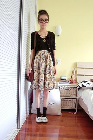 mom's vintage skirt