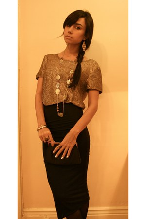 Forever21 shirt - Topshop skirt