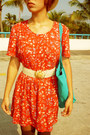 Red-1-thrifted-dress-mustard-bershka-hat-gold-1-thrifted-belt-dark-brown-b