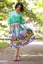 asos skirt - Zara blouse