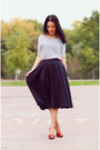 Navy-asos-skirt-white-reserved-top-red-casadei-heels
