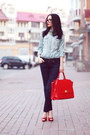 Red-one-by-michaellla-barri-collection-bag-casadei-heels
