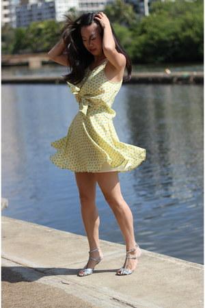light yellow Forever 21 top - light yellow Forever 21 skirt