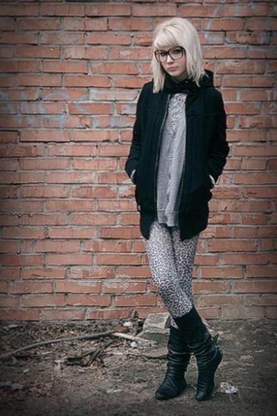 Forever21 glasses - Zara - Topman - Zara - Kate Moss for Topshop stockings