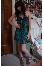 H&M dress - Schuh shoes - vintage from Ebay accessories