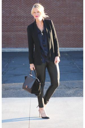 Stella McCartney blouse - Celine bag - IRO pants - Valentino pumps