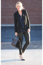 Stella McCartney blouse - Celine bag - IRO pants - Valentino pumps