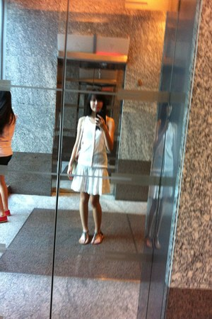 white Ralph Lauren dress