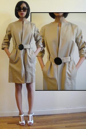 beige Zara coat - Aldo shoes