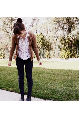 floral Topshop shirt