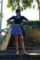 belt - skirt - shirt - shoes - sunglasses - purse