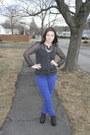 Blue-american-eagle-jeans-black-h-m-top-black-jeffrey-campbell-wedges