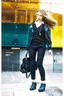 Black-jacket-black-bag-black-leggings-black-shoes-white-shirt