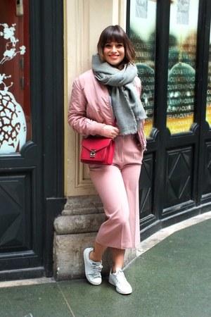 pink Stradivarius jacket