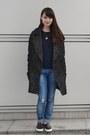 Black-topshop-shoes-gray-h-m-coat-blue-zara-jeans-navy-monki-sweater
