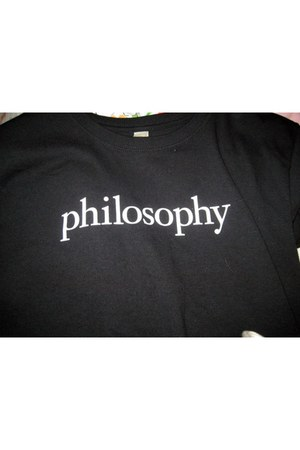 black Philosophy shirt