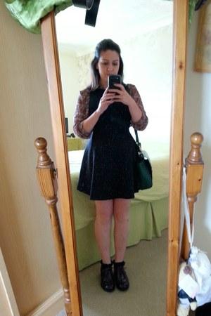 new look shoes - new look dress - new look shirt - Primark bag