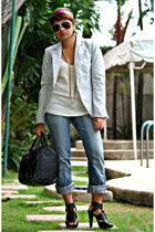 shirt - dvb jeans - Zara blazer - People are People shoes - isis - 4 u glamour e
