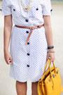 Brown-brown-primadonna-heels-white-thrifted-dress