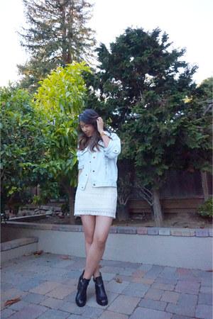 ASH boots - Mango dress - LF jacket - nixon watch