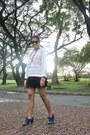 Navy-studded-boots-white-woven-zara-sweater-black-skirt