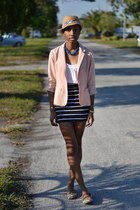 light pink Forever 21 blazer