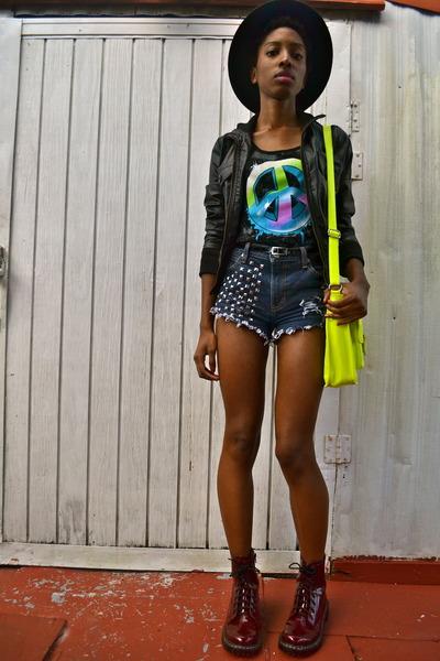 chartreuse Target bag