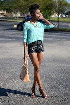 aquamarine Forever 21 sweater