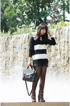 Dolce Vita boots - DKNY bag - Ralph Lauren jumper