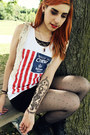 Dr-martens-boots-h-m-dress-rue-21-vest-polka-dot-stockings