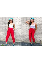 high-waisted Karen Scott pants
