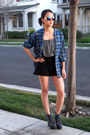 Navy-jeffrey-campbell-boots-charcoal-gray-bobeau-skirt