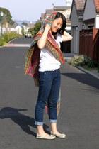 karma scarf - Gap flats