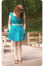 forever 21 dress - good will belt - Grandmas closet shoes