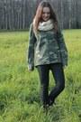 Olive-green-camouflage-zara-shirt