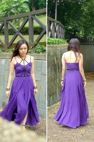 Violet Vgystore Dresses 3 Layered Swish By Reveries Chictopia