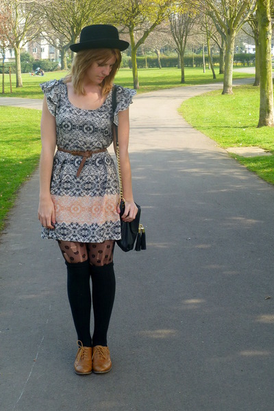 Primark shoes - asos dress