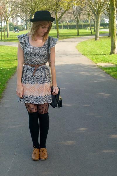 Primark shoes - asos dress