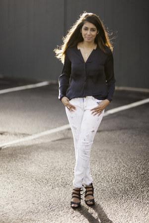 Zara top - Forever 21 jeans