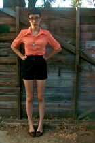 orange vintage shirt